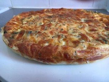 Quiche epinards mozzarella2